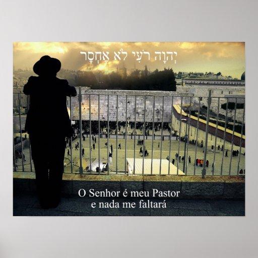 Pastor e Nada de Meu do é de O Senhor mim Faltará  Pôsteres