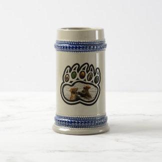 Pata de urso caneca de cerveja