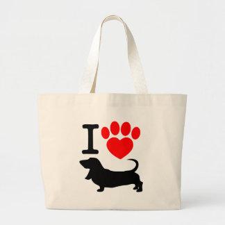 Pata do coração bolsa para compra