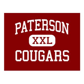 Paterson - pumas - católico - Paterson Cartão Postal