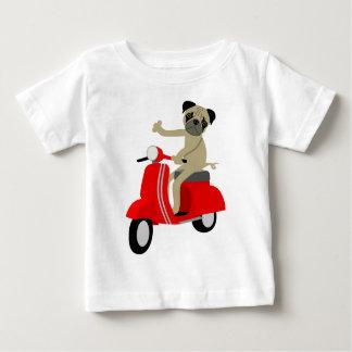 Patinete do Pug Camisetas