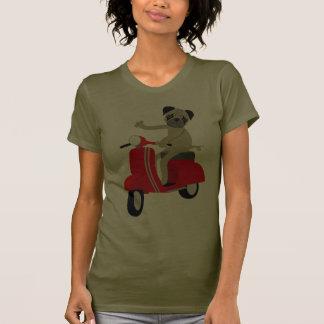 Patinete do Pug Tshirt