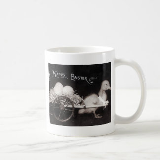 Patinho da páscoa do vintage caneca de café
