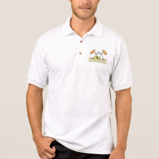 Pato clássico de Ding T-shirt Polo