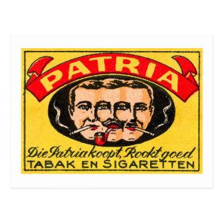 Patria Tabak Cartão Postal