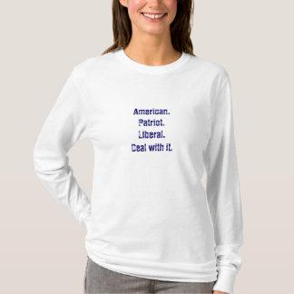 Patriota liberal t-shirt