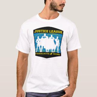 Patrulha Intergalactic da liga de justiça T-shirt