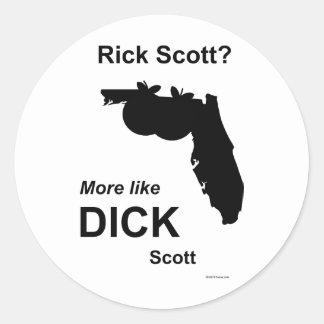 Pau Scott de Scott do rick Adesivo