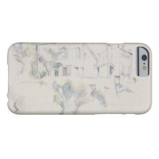 Paul Cezanne - vista do castelo Noir Capa Barely There Para iPhone 6