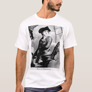 Paul Jones.  Retrato da imagem de John_War T-shirt