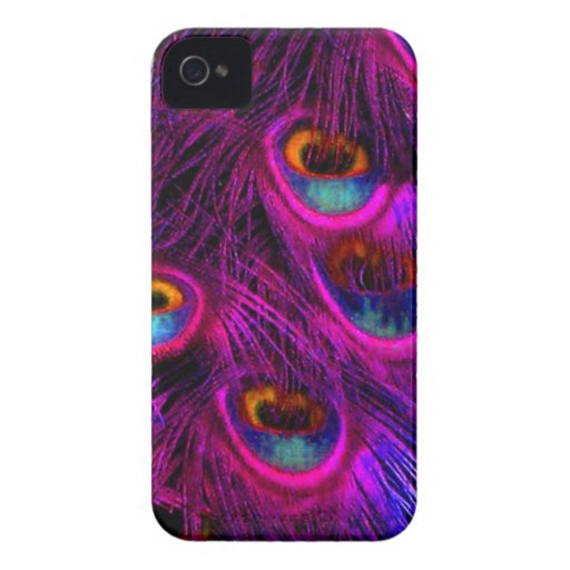 Pavão de PixDezines Psychedellic iPhone 4 Capas