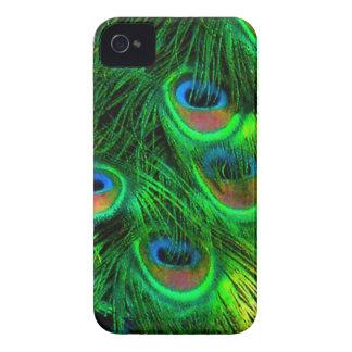 Pavão de PixDezines Psychedellic Capas Para iPhone 4 Case-Mate