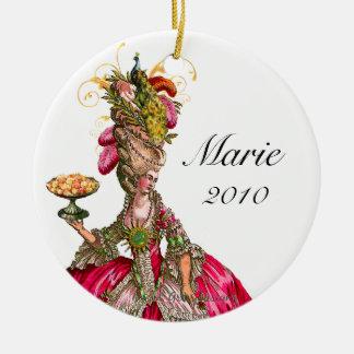 Pavão e bolo de Marie Antoinette Enfeites De Natal