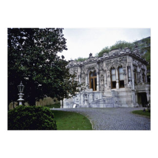 Pavilhão de Ihlamur, palácio de verão pequeno do o Convites Personalizados