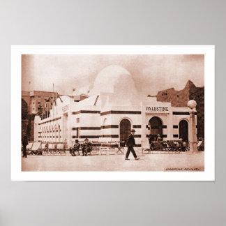 Pavilhão de Palestina da expo do Império Britânico Posteres