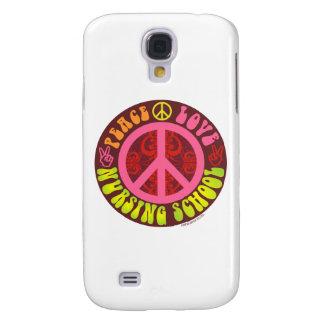 Paz, amor, escola de cuidados galaxy s4 covers