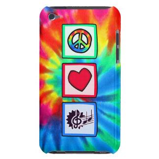 Paz, amor, música capa iPod touch