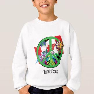 Paz CA do planeta T-shirt