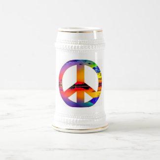 Paz Caneca De Cerveja