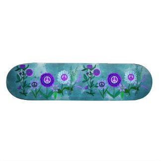 Paz crescente shape de skate 19,7cm