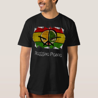 paz da reggae t-shirt