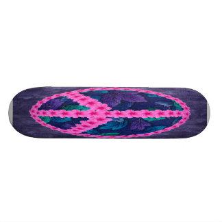 Paz do hibiscus shape de skate 21,6cm