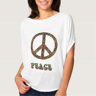Paz do leopardo tshirts