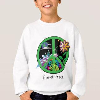 Paz do planeta t-shirts
