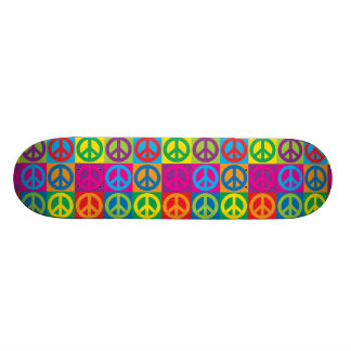 Paz do pop art shape de skate 21,6cm