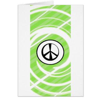 Paz-e-Harmonia Cartão Comemorativo