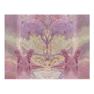 Paz e harmonia por Amelia Carrie Cartão Postal