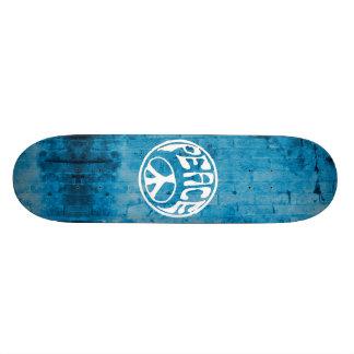 Paz: Faça uma diferença Shape De Skate 20,6cm