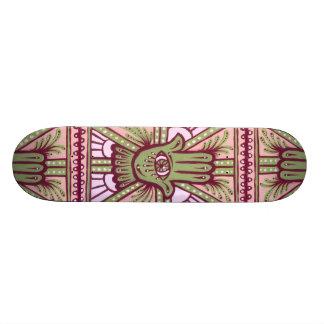 Paz & satisfacção shape de skate 18,7cm