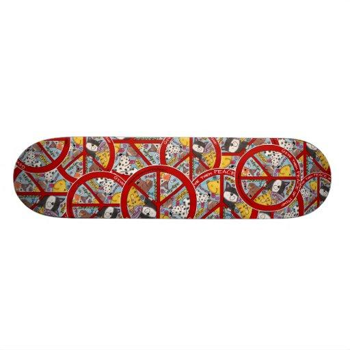 Paz Símbolo-Humana Skate Boards