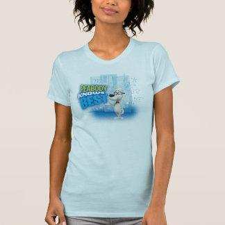 Peabody sabe o melhor camisetas