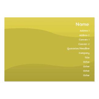 Peawave - carnudo cartão de visita grande