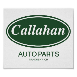Peças de automóvel de Callahan Posteres