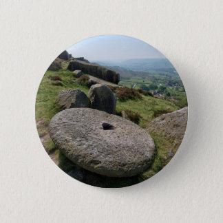 Pedra de moer de Derbyshire Bóton Redondo 5.08cm
