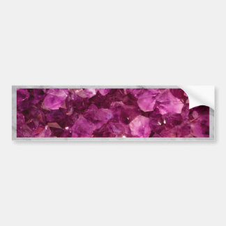 Pedras preciosas roxas Amethyst de cristal de Adesivo Para Carro