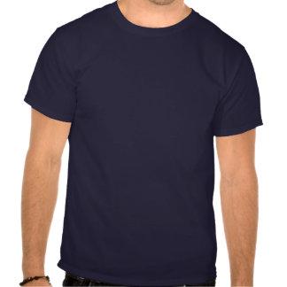 Pegada do carbono (branco enchido) t-shirts