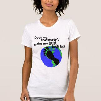 Pegada do carbono/bumbum gordo? T-shirt