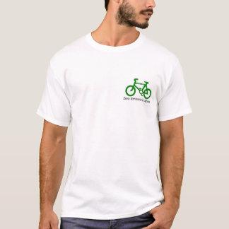 Pegada do carbono+ camiseta