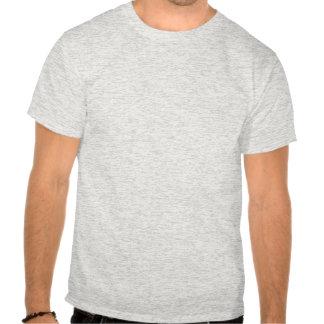 Pegada do carbono (linhas marrons) tshirts