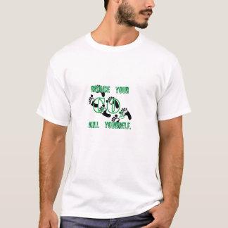 Pegada do carbono tshirt