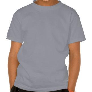 Pegada do dinossauro camisetas