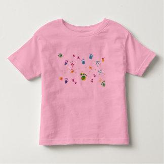 pegadas t-shirts