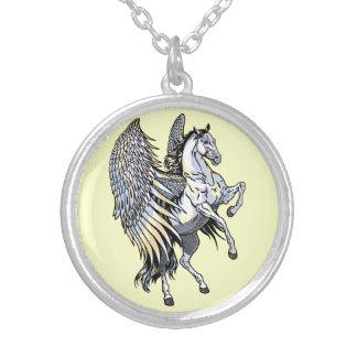 pegasus branco bijuteria personalizada