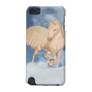 Pegasus que olha para baixo através das nuvens capa para iPod touch 5G