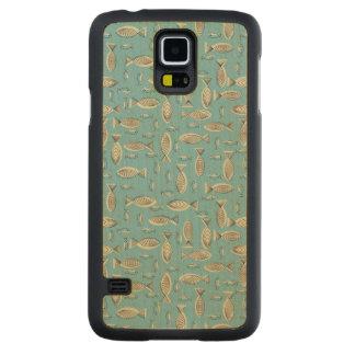 Peixes Case Slim De Bordo Para Galaxy S5
