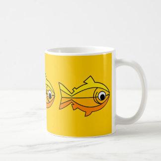 Peixes como o símbolo da cristandade caneca
